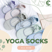 Kaos Kaki Yoga/Barre/Ballet/Pilates/Senam/Gym Anti Slip Socks
