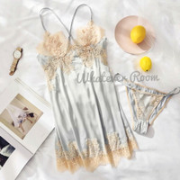 Claire - Sexy Lingerie Lace Dress Babydoll Honeymoon Sleepwear