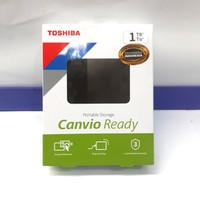 HARDISK EXTERNAL TOSHIBA 1TB CANVIO BASIC Dijamin AWET garansi 3 Tahun
