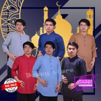Baju Gamis Pria Dewasa Fashion Koko Muslim Laki Laki Remaja Murah
