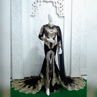 kebaya adat jawa bludru baju pengantin