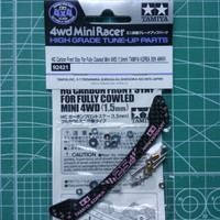 TAMIYA 92421 HG Carbon Front Stay For Fully Cowled Mini 4WD (1.5mm)