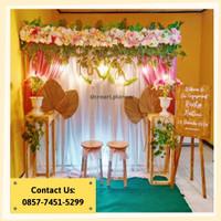 Backdrop Lamaran/ Dekorasi Khitanan/Dekorasi Pernikahan/Photobooth 19