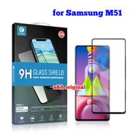 Mocolo Tempered Glass Premium - Samsung M51 Full Cover Glue Original