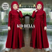 la gamis busana muslim fashion anak perempuan