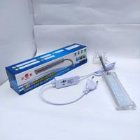 Lampu Jepit LED YAMANO 3W -- Lampu LED Aquarium Aquascape 3 Watt