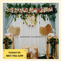 Backdrop /Dekorasi Photobooth/ Dekorasi Lamaran/Dekorasi Pernikahan 11