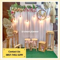 Backdrop /Dekorasi Photobooth/ Dekorasi Lamaran /Dekorasi Pernikahan 1