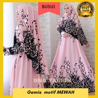 Busana Muslim Wanita Baju Gamis Syari Pesta Modern Abaya Busui Arimby