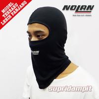Balaclava Logo Cap Nolan Kupluk Masker Ninja Alas Helm Tutup Kepala