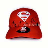 topi fashion anak laki laki karakter superman terbaru
