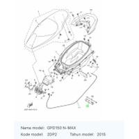 Kunci Busi Box Bagasi 2DP-F814F-00 NMAX