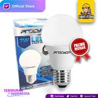 Lampu Procyon LED 7 9 11 14 16 18 W Watt Putih A Bulb Cool Daylight