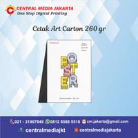 Cetak Poster A3+ A3 A4 Art Carton 260 Gr Custom