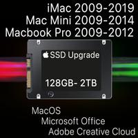 SSD SATA Macbook Pro Unibody dan iMac 512GB/1TB 2009 2010 2011 2012