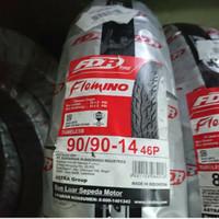 FDR Flemino 90/90 ring 14 - Regular Compound - Tubeless Stock terbaru