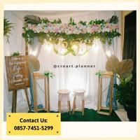 Backdrop Lamaran/ Dekorasi Khitanan/Dekorasi Pernikahan/Photobooth 18