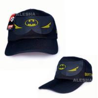 topi fashion anak laki laki karakter batman murah terbaru
