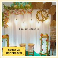 Backdrop Lamaran/ Dekorasi Khitanan/Dekorasi Pernikahan/Photobooth 16
