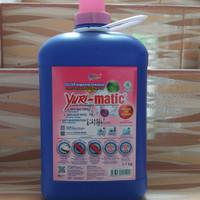 Yuri Matic Sabun Mesin Cuci Baju 3,7Kg Aroma Floral