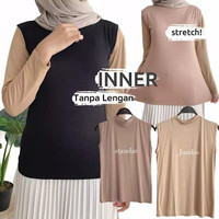 Manset Tanpa Lengan Premium Sleeveless Inner Dada Tangtop Daleman Baju