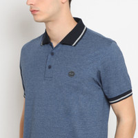 POLICE Polo Shirt Krah Stripe Pria 207600031