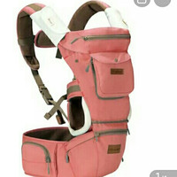 BABY SCOTS Gendongan Bayi Hipseat Platinum - Baby Carrier TQ-525 Pink