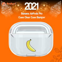 Banana AirPods Pro Case Clear Case Bumper