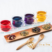 TO A TEA COLORFUL HEALTH REMEDY BLUE, PURPLE, YELLOW, RED TEA - 50gr