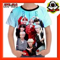 Kaos BTS korea Boyband Baju Anak cowok cewek murah
