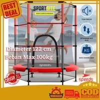 Speeds Trampoline 140 cm Trampolin 55 Olahraga Anak Dewasa 55 inch