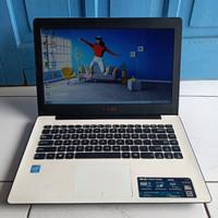 Asus X453M Warna Putih HDD 500GB HDMI Laptop Second Bekas Murah