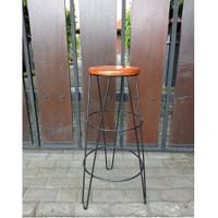 kursi bar/kursi cafe/kursi coffee shop/kursi counter tinggi 70 cm