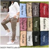 Baggy Pants Wanita Kantor Casual Formal
