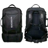 Tas Backpack Eiger R Trav pack vary 1.1 original Hitam