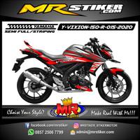 Decal Stiker Striping Vasriasi Motor Yamaha Vixion R Grafis New Racing
