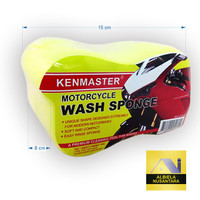 Busa Cuci Motor dan Mobil - Kenmaster - Leaf Sponge Lembut isi 2
