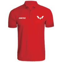 Kaos Polo Shirt Baju Kerah Distro WULiNG CORTEZ polos custom iNDONESiA