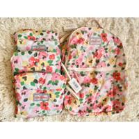 Cath Kidston Painted Pansies Foldaway/Pocket Backpack