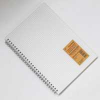 Notebook Grid / Kotak B5 & A5 80 Lbr / BUKU TULIS CATATAN RING SPIRAL