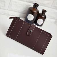 Dompet panjang wanita dompet jait dompet ballery terbaru dompet kertas