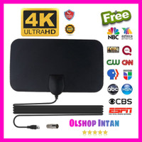 Antena TV Digital DVB-T2 4K High Gain 25dB - TFL-D139 Antene