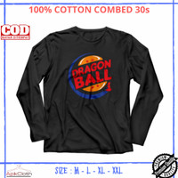 Baju Kaos Anime Lengan Panjang Dragon Ball Goku Branded High Premium