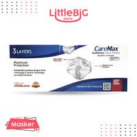 Masker CAREMAX Surgical HEIQ VIROBLOCK 3 Ply Face Mask Earloop