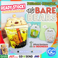 BOBA Popsocket We BARE BEARS 3D bubble milk tea Liquid Airbag Phone