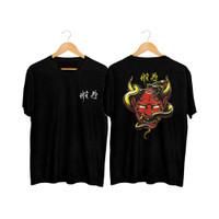 MS - BF098 Kaos Distro Pria T-Shirt Pria Kaos Pria Pria Tulisan Cina