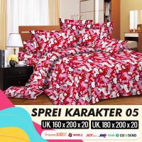 MH - Sprei Set MOTIF ANAK KARAKTER 05