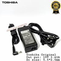 Charger Adaptor Laptop toshiba 19V 3.42A C600 C640 L645 L640 L510 M300