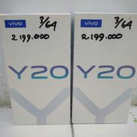 Vivo Y20 3/64 Garansi resmi