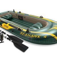 Perahu Karet Seahawk 4 Infotable Boat + Pompa Original Murah